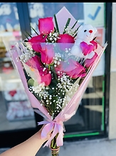 All Pink Bouquet