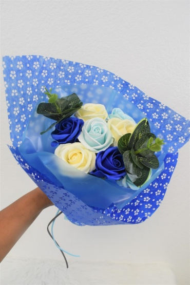 Small Blue Bouquet