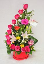 Hot Pink Arrangement