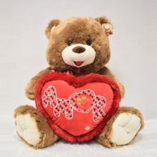 28″ Amor Teddy Bear