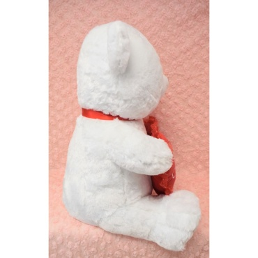 36″ White Teddy Bear